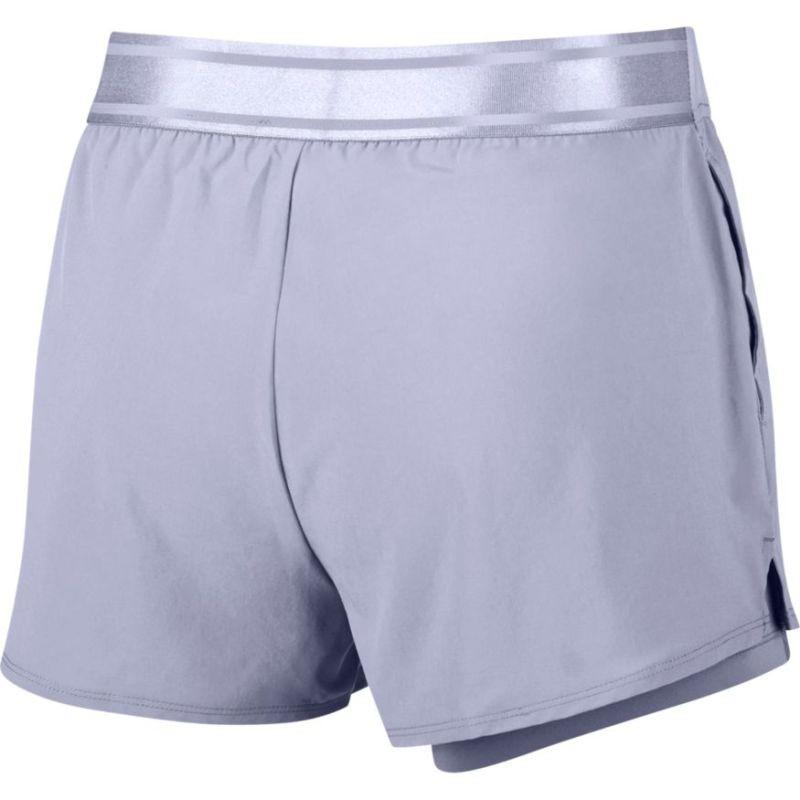 Тенісні шорти жіночі Nike Court Flex Short oxygen purple/oxygen purple