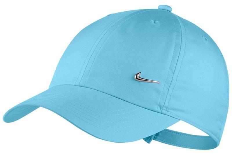 Кепка дитяча Nike Youth Heritage 86 Cap Metal Swoosh blue gaze/metallic silver
