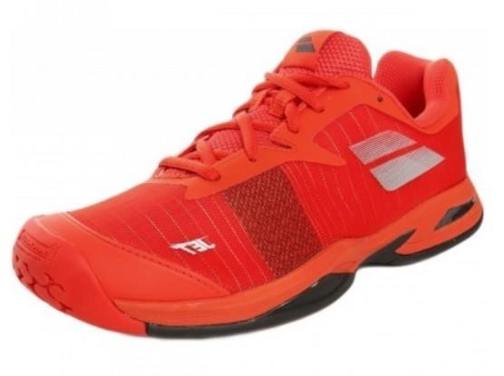 Детские теннисные кроссовки Babolat Jet All Court Junior orange