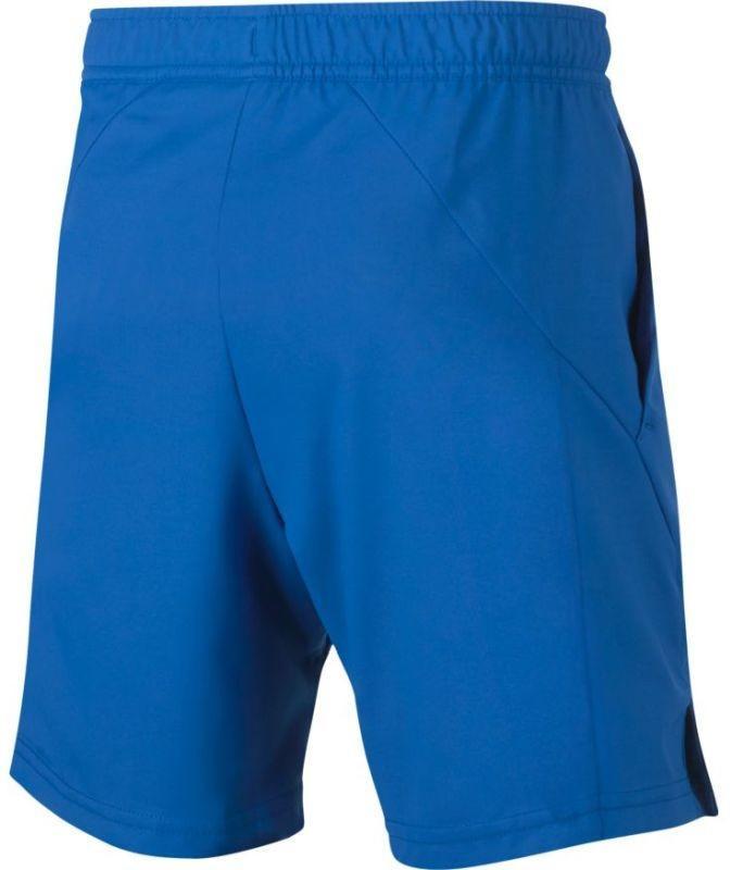 Теннисные шорты детские Nike B Court Dry Short signal blue/white