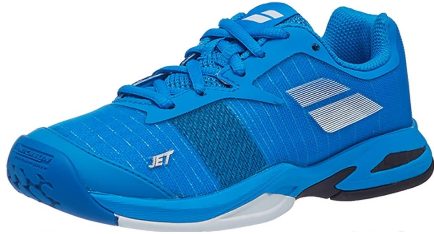 Дитячі тенісні кросівки Babolat Jet All Court Junior diva blue/white