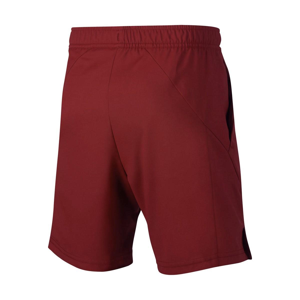 Теннисные шорты детские Nike B Court Dry Short team crimson/black