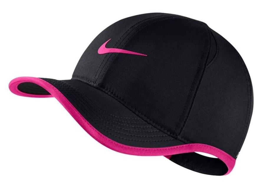 Кепка дитяча Nike Youth Aerobill Feather Light Cap black/laser fuchsia
