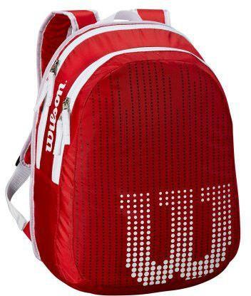 Теннисный рюкзак детский Wilson Junior Backpack red/white
