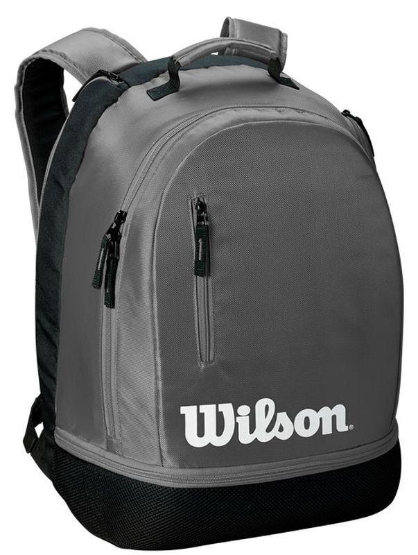Теннисный рюкзак Wilson Team Backpack grey/black