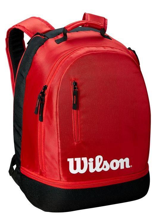 Теннисный рюкзак Wilson Team Backpack black/red