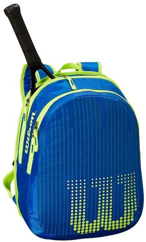 Теннисный рюкзак детский Wilson Junior Backpack blue/yellow