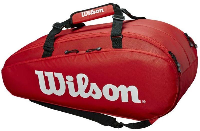 Теннисная сумка Wilson Tour 2 Comp Large 9 Pk red