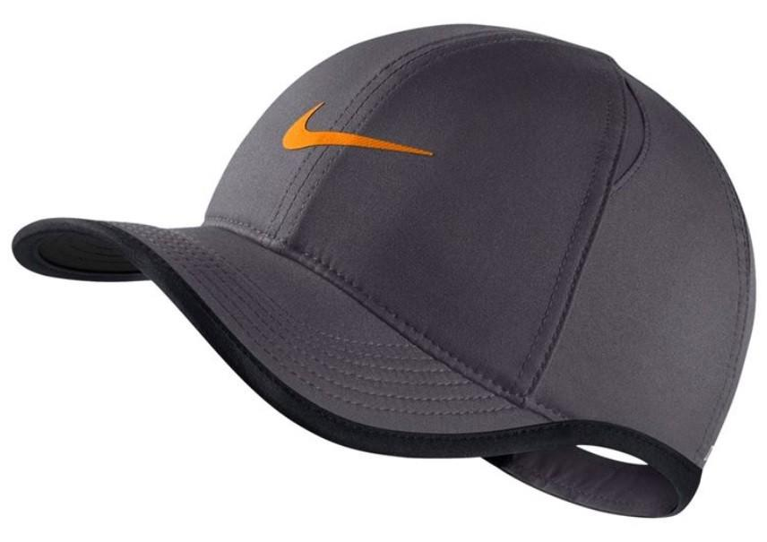 Кепка детская Nike Youth Aerobill Feather Light Cap dark grey/black/orange peel