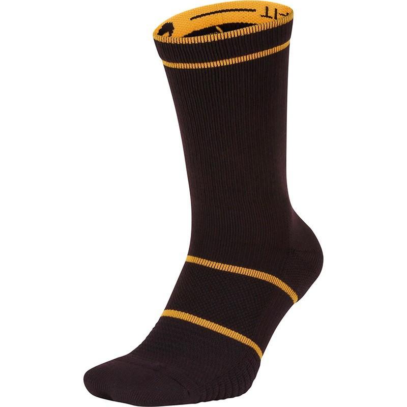 Носки теннисные Nike Court Essential Crew 1 пара burgundy ash/canyon gold