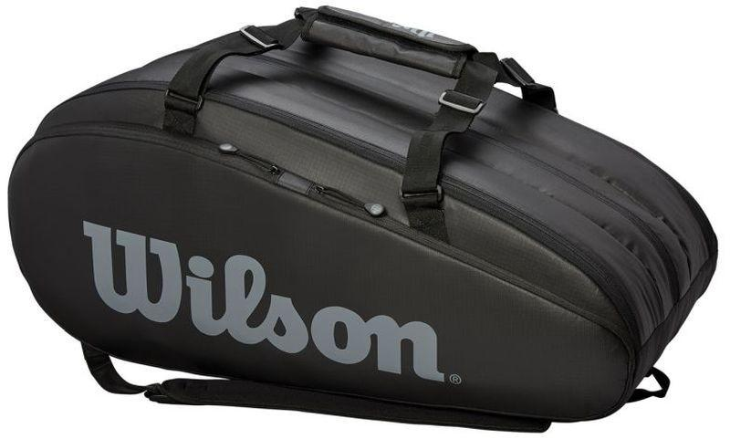 Теннисная сумка Wilson Tour 2 Comp Large 9 Pk black/grey