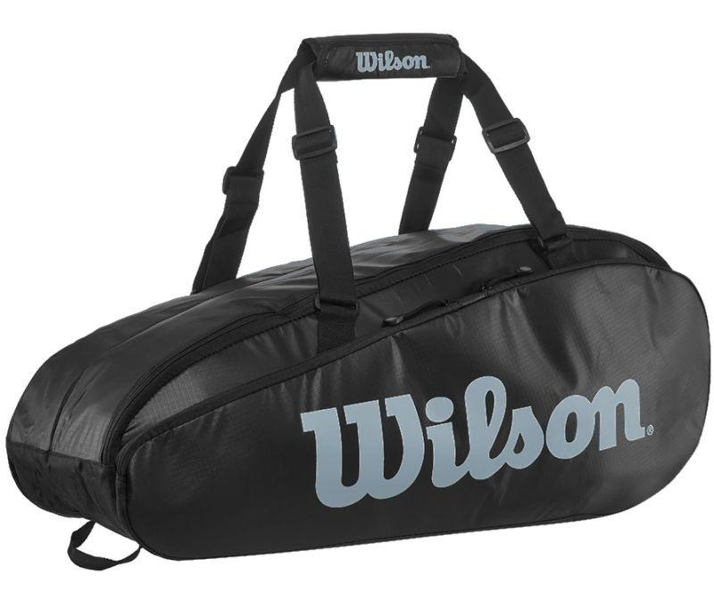 Теннисная сумка Wilson Tour 2 Comp Small 6 Pk black/grey