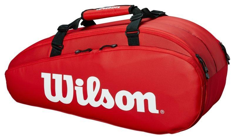 Теннисная сумка Wilson Tour 2 Comp Small 6 Pk red