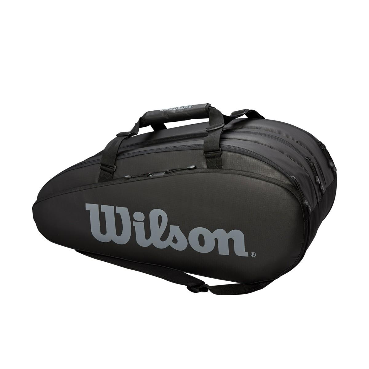 Теннисная сумка Wilson Tour 3 Comp 15 Pk black/grey
