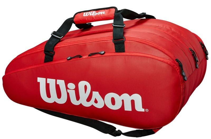 Теннисная сумка Wilson Tour 3 Comp 15 Pk red