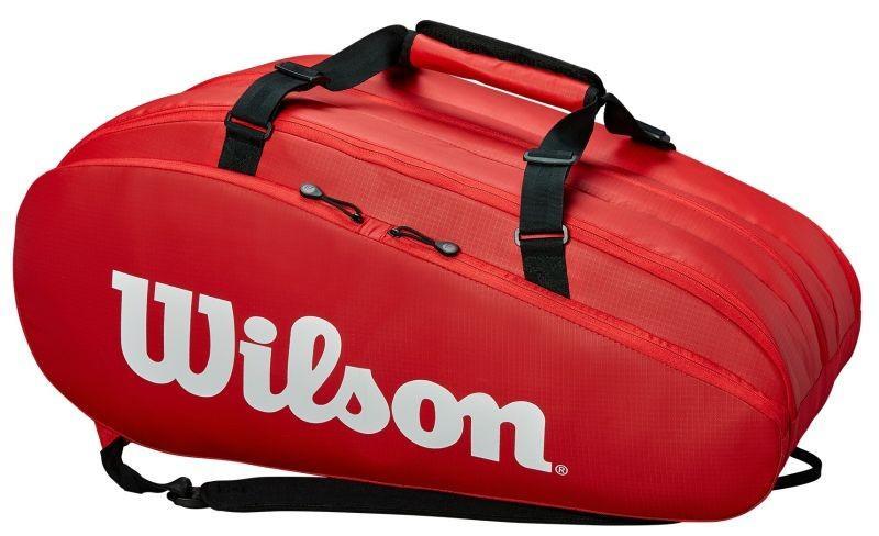 Тенісна сумка Wilson Tour 3 Comp 15 Pk red