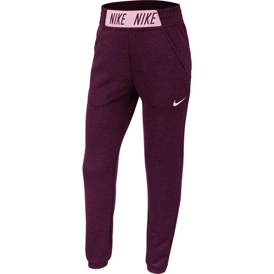 Штаны детские Nike Training Pants Studio bordeaux/pink foam