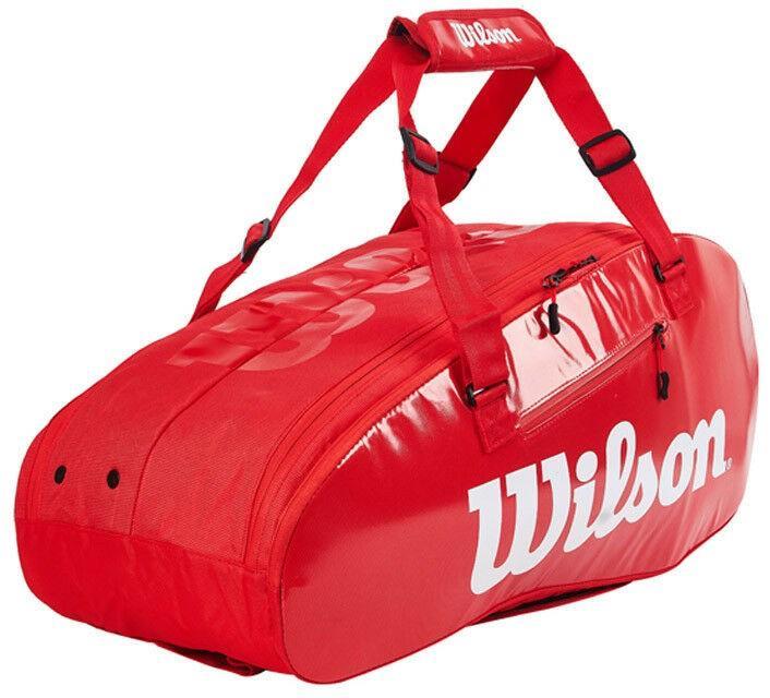 Теннисная сумка Wilson Super Tour 2 Comp Small 6 Pk red