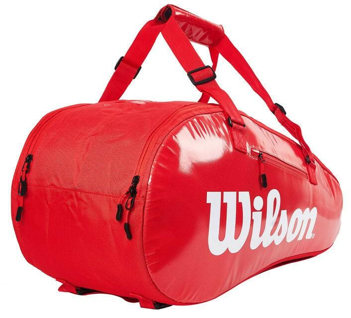 Теннисная сумка Wilson Super Tour 2 Comp Small 6 Pk red