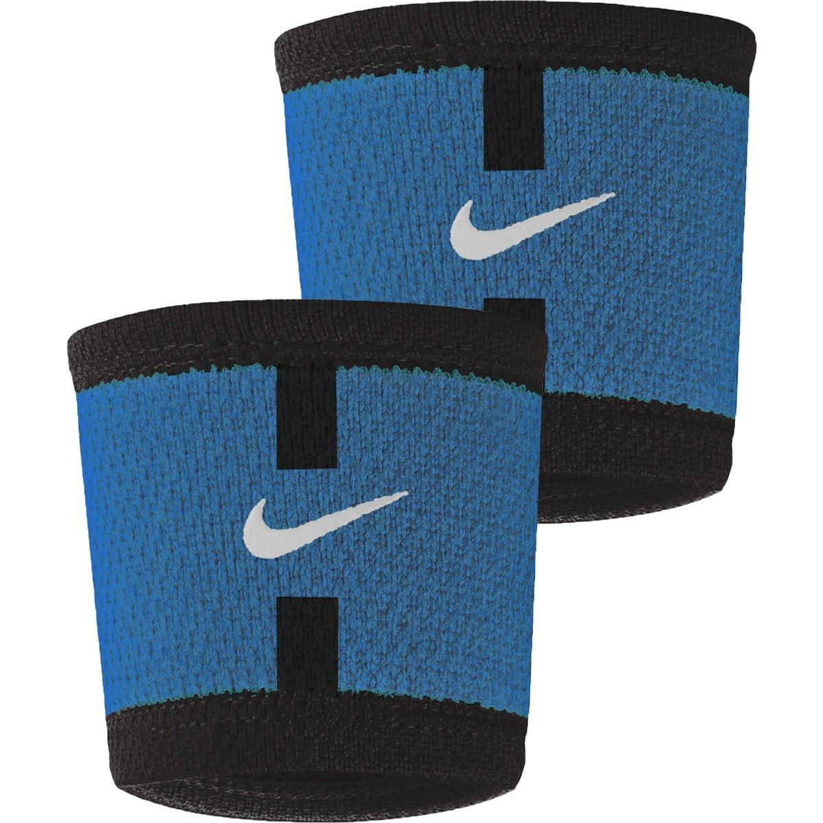 Напульсник Nike Court Serena Williams Paris Wristbands blue/black