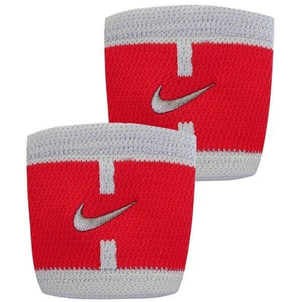 Напульсник Nike Court Wristbands action red/pure platinum