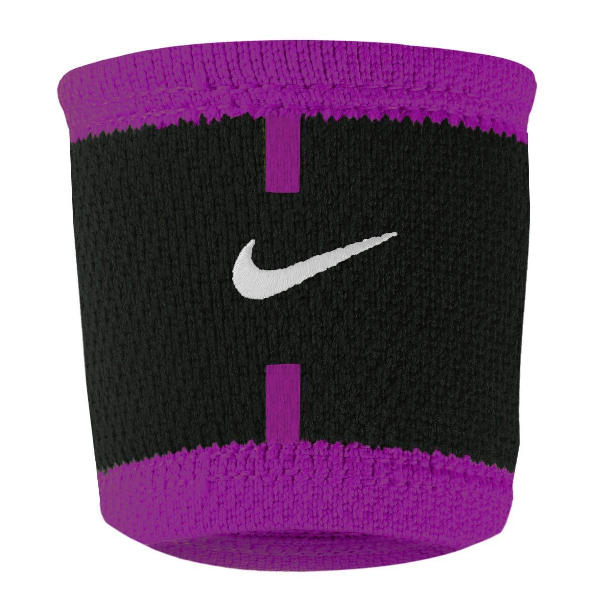 Напульсник Nike Court Wristbands black/violet