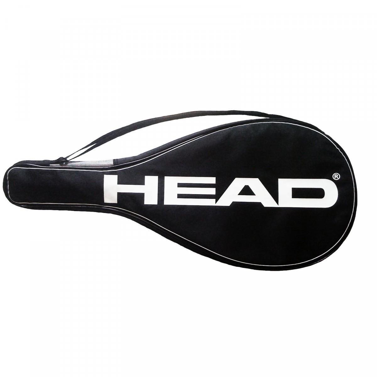 Чехол для ракетки Head black/white