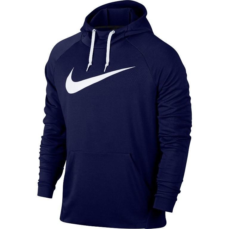 Реглан мужской Nike Dry Swoosh Hoodie navy/white