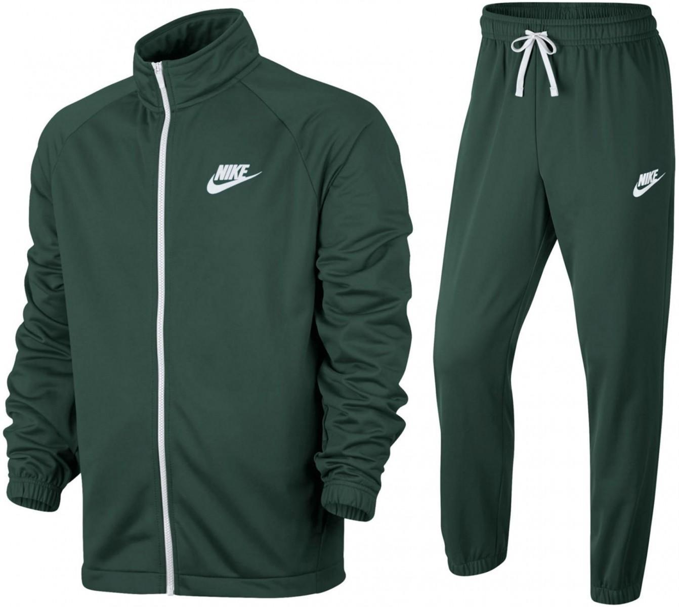 Костюм мужской Nike Sportswear Tracksuit green/white