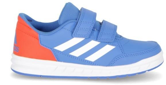Детские теннисные кроссовки adidas AtlaSport Junior true blue/white/active orange