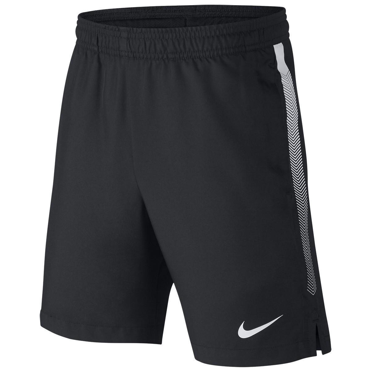 Теннисные шорты детские Nike Court Boys Dry Short black/white
