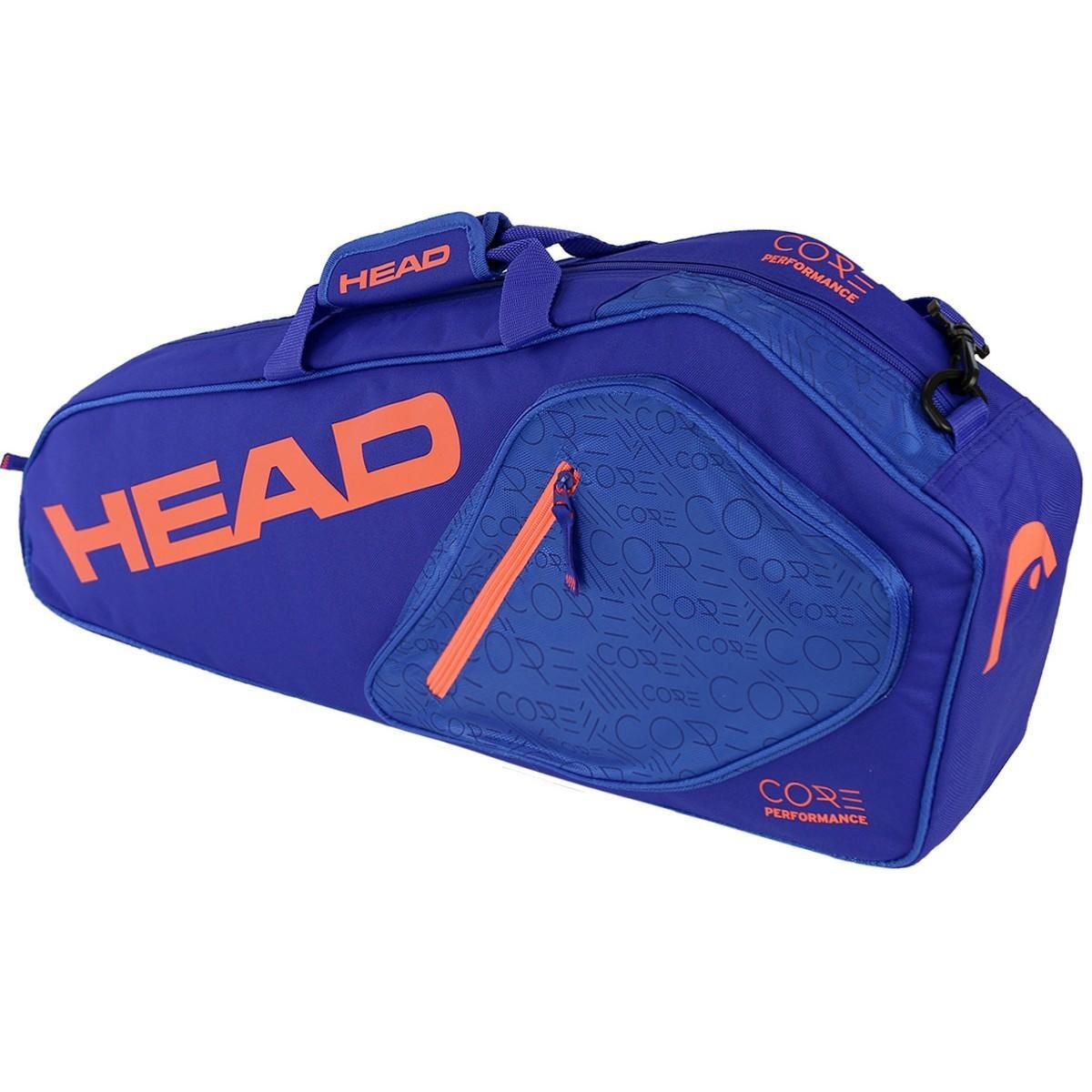 Теннисная сумка Head Core 3R Pro blue flame