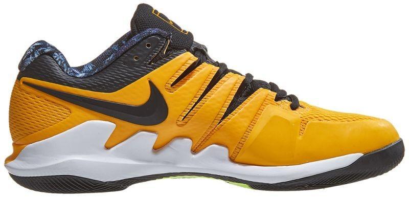 Детские теннисные кроссовки Nike Air Zoom Vapor 10 HC Jr university gold/black/white