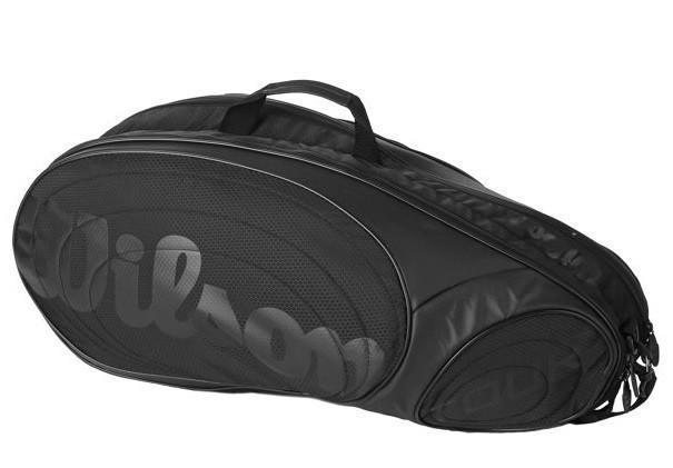 Тенісна сумка Wilson Tour 6 Pk black/black