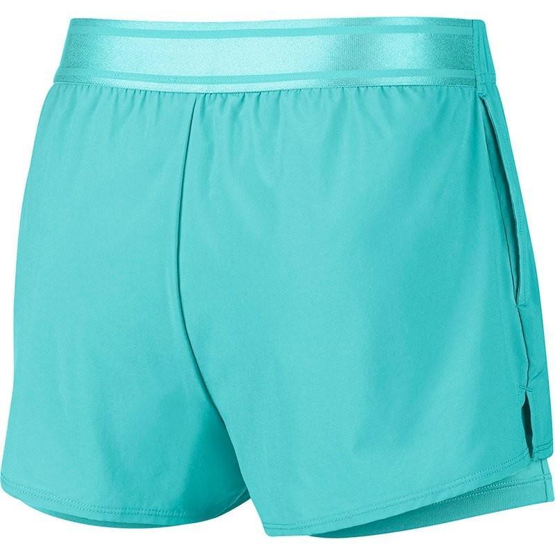 Тенісні шорти жіночі Nike Court Flex Short light aqua