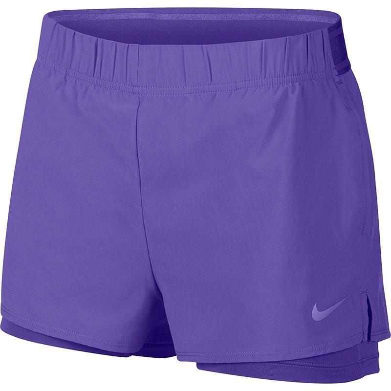 Тенісні шорти жіночі Nike Court Flex Short psychic purple