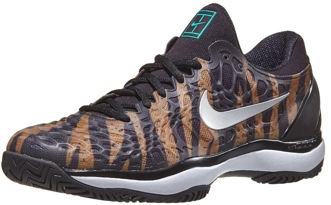 Теннисные кроссовки мужские Nike Air Zoom Cage 3 wheat/silver/jade