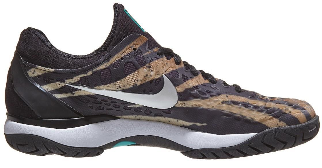 Тенісні кросівки чоловічі Nike Air Zoom Cage 3 wheat/silver/jade