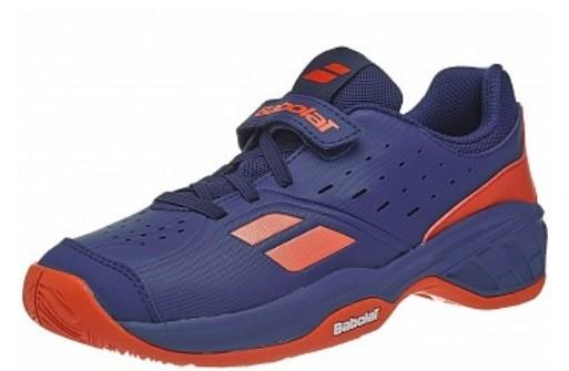 Дитячі тенісні кросівки Babolat Pulsion All Court Kid estate blue/orange