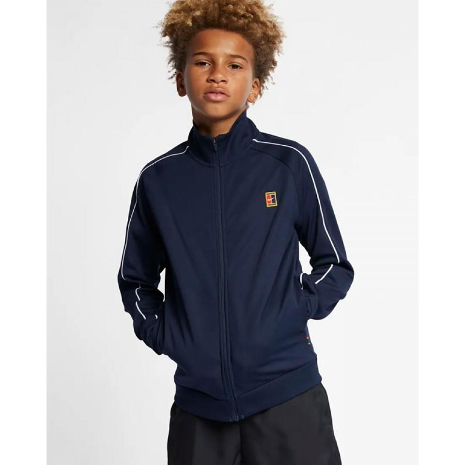 Куртка детская Nike Court Warm Up Jacket blue void/white/white