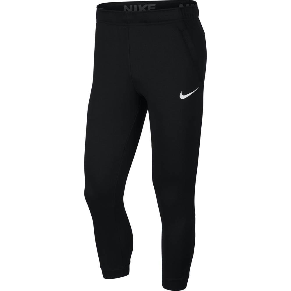 Спортивные штаны мужские Nike Men's Tapered Fleece Training Pants black/white
