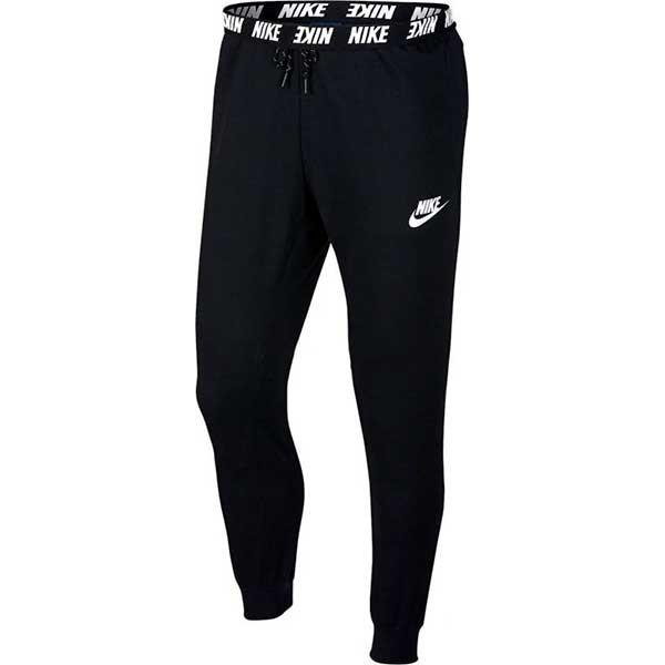 Штаны мужские Nike Fleece Joggers black/white