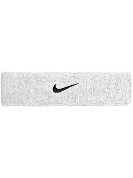 Повязка на голову Nike Swoosh Headband white/black