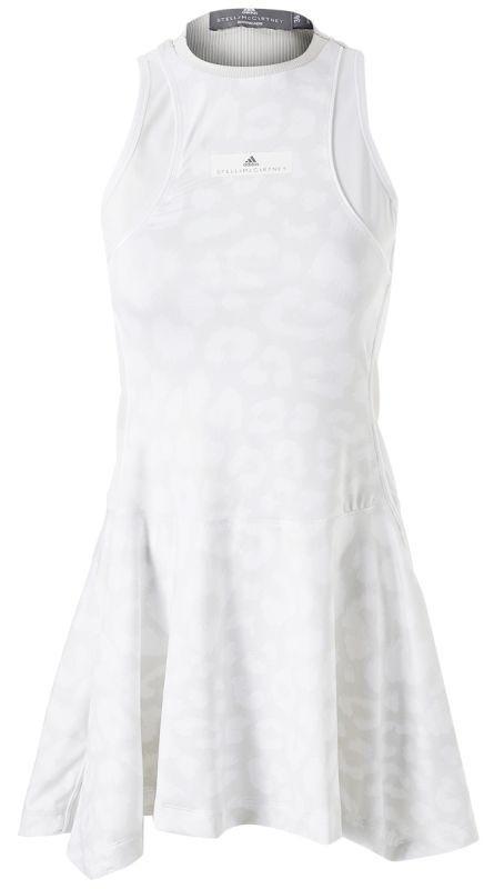 Теннисное платье женское Adidas Stella McCartney Court Dress Women white/light grey