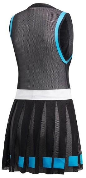 Теннисное платье женское Adidas Muguruza Escouade Dress black/white