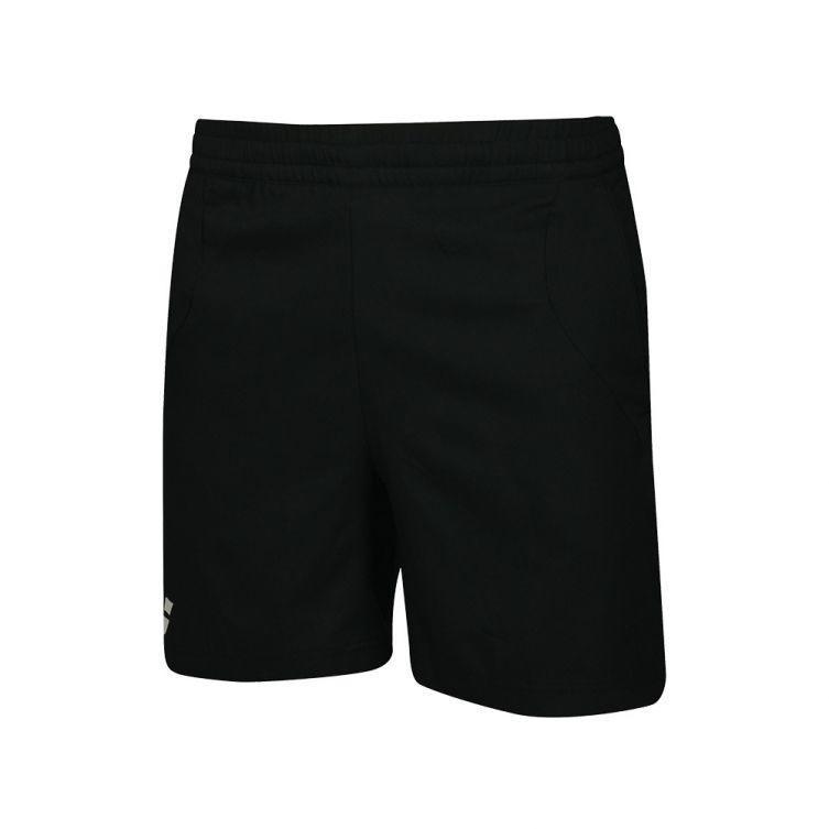 Теннисные шорты детские Babolat Core Short Boy black