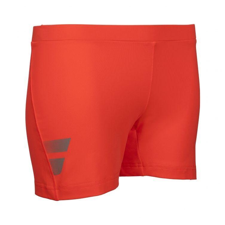 Теннисные шорты женские Babolat Core Shorty Women fluo red под платье