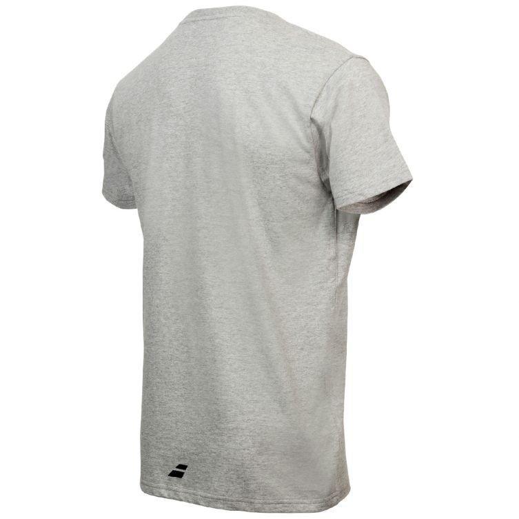 Теннисная футболка мужская Babolat Pure Core Men heather grey