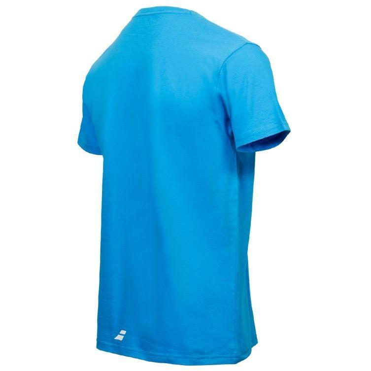 Теннисная футболка мужская Babolat Pure Core Men drive blue