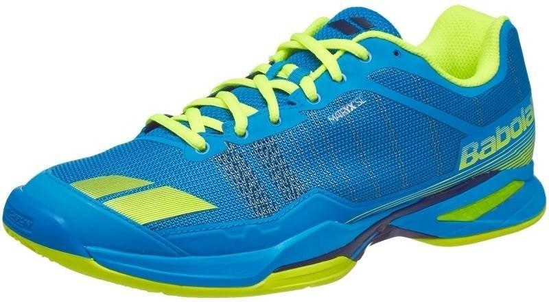 Теннисные кроссовки мужские Babolat Jet Team blue/yellow